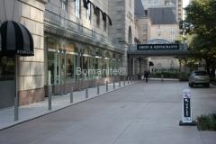 Texas Bomanite Exposed Aggregate Systems with Bomanite Alloy decorative concrete at the Crescent Hotel.