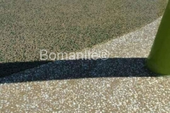 Texas Bomanite Exposed Aggregate Systems with Bomanite Revealed decorative concrete at S Lake Bicentennial Park.