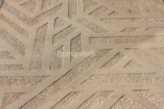 Texas Bomanite Exposed Aggregate Systems with Bomanite Sandscape decorative concrete Texture at Victory Park in the heart of downtown Dallas, Texas.