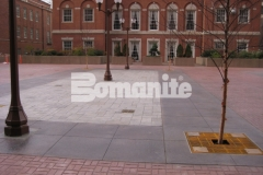Bomanite imprinted concrete was installed here by Connecticut Bomanite Systems, earning them the 2018 Bomanite Imprint Systems Bronze Award for their laborious installation of over 46,574 square feet of both patterned and patterned/textured decorative concrete throughout the pavilion of the commercial buildings at Tower Square in Hartford, CT.