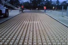 Bomanite Grasscrete Concrete Access at Ft. Bragg