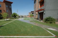 Bomanite Concealed Grasscrete Concrete with Reusable Formers
