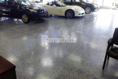 The Bomanite Modena system is a low-cost alternative for renovation projects and provides the durability and strength for this exceptionally long lifespan system. With the industry's lowest lifecycle costs, low to zero VOC, and minimal maintenance requirements, Bomanite Modena Monolithic was the optimal choice for this car dealership.