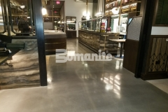 After our colleague, Beyond Concrete, made necessary corrections to repair a base slab that was in poor condition and out of level, they installed Bomanite Modena SL decorative concrete and their expertise in the field ensured that the high-end Angeline by Michael Symon restaurant was engineered for rave reviews and also earned them the 2018 Best Bomanite Custom Polishing Project Honorable Mention Award for their excellent work.