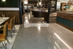 With Michael Symon's ode to classic Italian food at his restaurant, Angeline, the design needed to reflect a balance of both old and new world and this was perfectly captured using Bomanite Modena SL polished concrete flooring that was ground and polished to a medium satin finish, offering sophistication and durability.