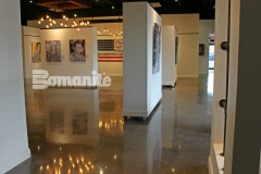 Bomanite Patene Teres was installed at The American Fallen Solders Project National Gallery to provide custom polished concrete flooring that complements the design aesthetic and this flooring surface is a beautiful complement to the amazing tribute to America's fallen heroes.