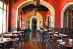 Texas Bomanite using Bomanite Toppings Systems with Patene Artectura decorative concrete at Uncle Julio's Mexican Restaurant in Austin, Texas.